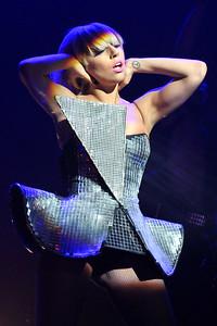Lady Gaga performs at O2 Academy Brixton - 14/07/09