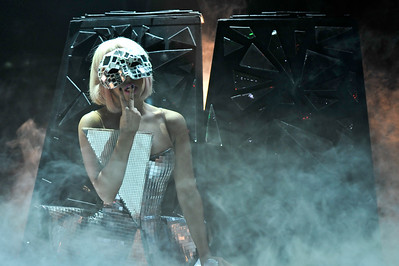 Lady Gaga performs at O2 Academy Brixton - 14/07/09