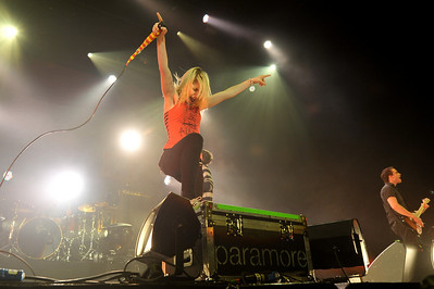 Paramore perform at Wembley Arena - 18/12/09