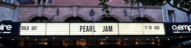 Pearl Jam perform at Shepherds Bush Empire - 11/08/09