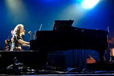 Regina Spektor performs athe The Serpentine Sessions, Hyde Park, London - 29/06/09