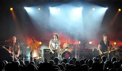Snow Patrol perform at Stubb's, Austin - 06/10/09