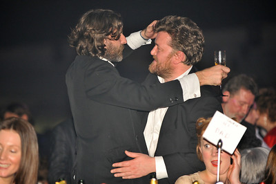Guy Garvey with ? at the Brits 2009
