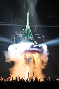 Take That performing at the Brits 2009
