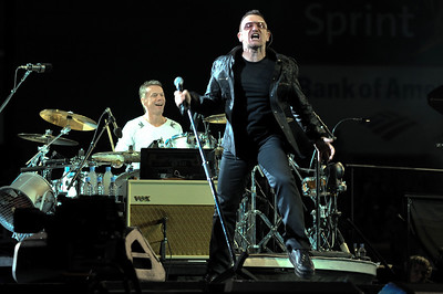 U2 perform at FedExField, Washington - 29/09/09