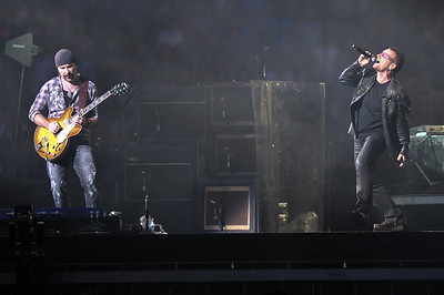 U2 perform at Wembley Stadium - 14/08/09