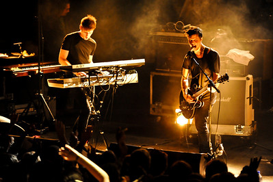 White Lies performing at Birmingham O2 Academy (NME Shockwaves Tour) - 4th Feb 2009