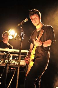 White Lies performing at Birmingham O2 Academy (NME Shockwaves Tour) - 4th Feb 2009