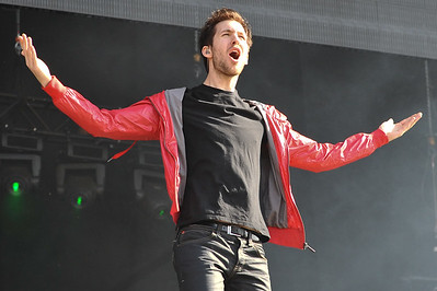 Calvin Harris performs at Wireless 2009 - 05/07/09