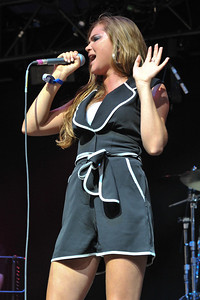 Florence Rawlings performs at Wireless 2009 - 05/07/09