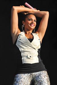 Alesha Dixon performs at Wireless 2009 - 05/07/09
