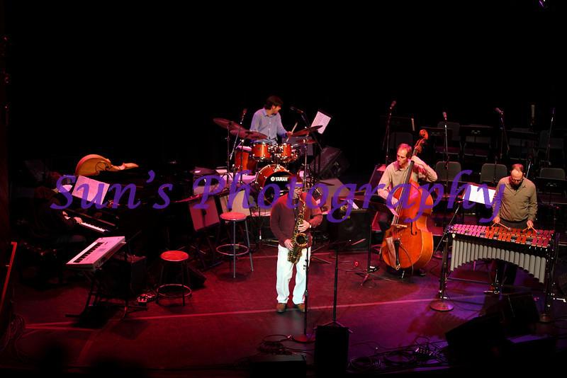 Tenor Saxophone, Rick DiMuzio; Piano, Gilson Schachnik; Bass, John Funkhouser; Drum Set, Mario Domenico Di Pietro; Vibraphone, Rich Greenblatt