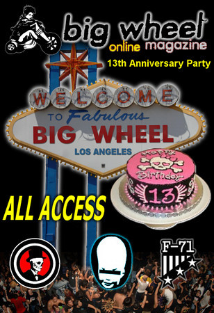 Big Wheel 13th Anniversary Party with Narcoleptic Youth - The Billy Bones - Raven Moreland - Lisafer - Fallujah 71 - Los Angeles, CA - October 30, 2010