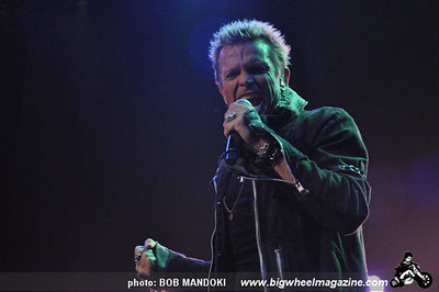 Billy Idol - at The Pearl Theatre Inside The Palms Hotel - Las Vegas, NV - August 21, 2010