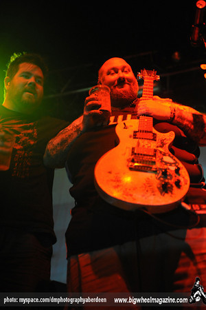 Bowling for Soup - at Beach Ballroom - Aberdeen, UK - October 18, 2010