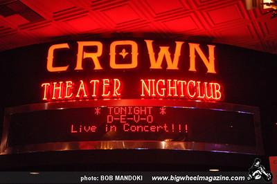 DEVO - Grand Opening night of The Crown Theater inside Rio All-Suite Hotel & Casino - Las Vegas, NV - June 19, 2010