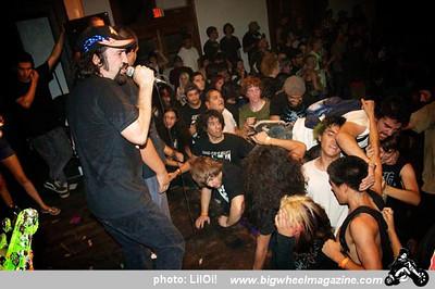D.R.I. - Attempted Murder - at Cedar Center - Lancaster, CA - September 27, 2010