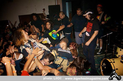 D.R.I. - Attempted Murder - at Cedar Center - Lancaster, CA - September 27, 2010