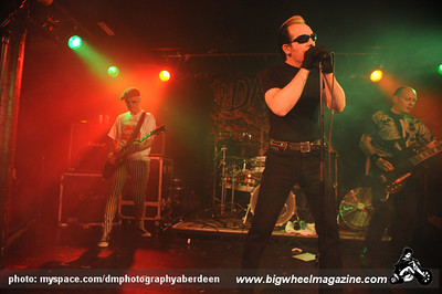 The Damned - at The Warehouse - Aberdeen, UK - May 30, 2010