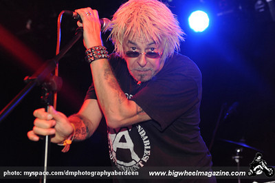 UK Subs - Durham Punk Festival - at Dunhelm House - Durham, UK - September 11, 2010