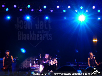 Joan Jett and The Blackhearts - at Hollywood Park - Inglewood, CA - April 23, 2010