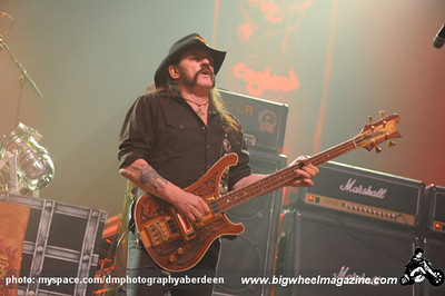 Motorhead - at The AECC - Aberdeen, Scotland - November 8, 2010