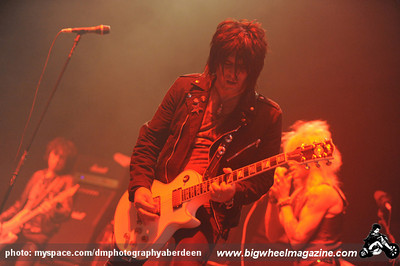 Mike Monroe - at The AECC - Aberdeen, Scotland - November 8, 2010