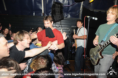 Mudhoney - at Tunnels - Aberdeen, UK - October 8, 2010