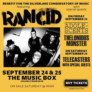 Rancid - The Adolescents - Thelonious Monster - at The Fonda Theater / Music Box - Hollywood, CA - September 23, 2010