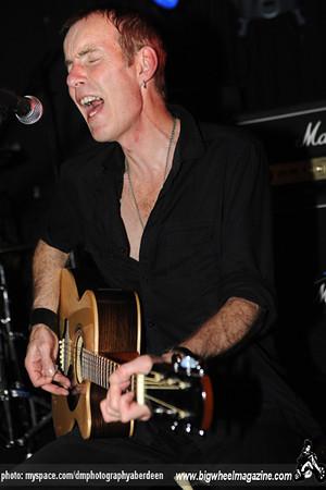 Sham 69 - at Cafe Drummonds - Aberdeen, Scotland - November 10, 2010
