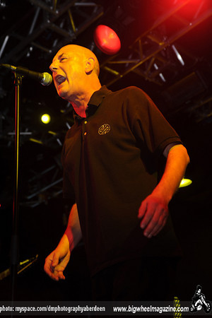 Steve Ignorant - Goldblade - at The Liquid Rooms - Edinburgh, UK - October 2, 2010