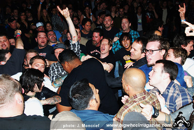 The Bronx - at The El Rey Theatre - Los Angeles, CA - April 20, 2010