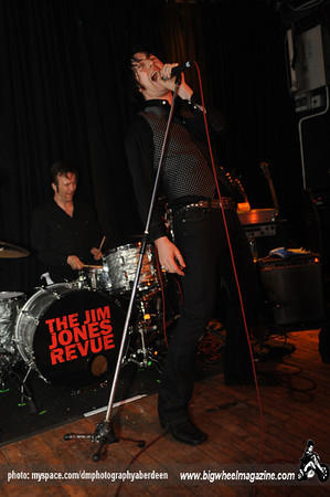 The Jim Jones Revue - at The Tunnels - Aberdeen, UK - April 18, 2010