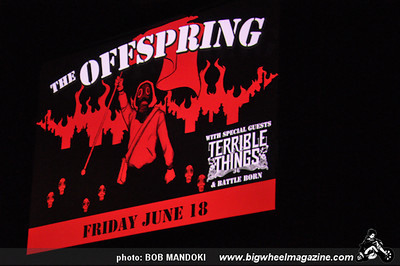 The Offspring - Battle Born - Terrible Things - The Joint Inside The Hard Rock Hotel - Las Vegas, NV - June 18, 2010