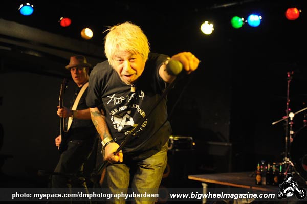 UK Subs - at The Beirkeller - Bristol, UK - March 25, 2010
