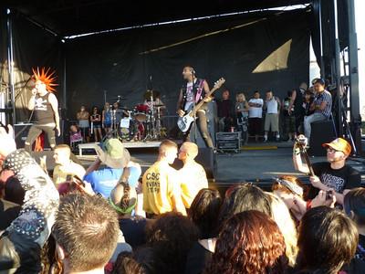 VANS Warped Tour - at Home Depot Center - Carson, CA - June 25, 2010