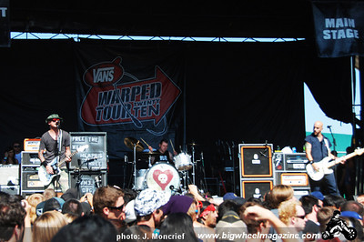 VANS Warped Tour - at The Fairplex - Pomona, CA - August 11, 2010