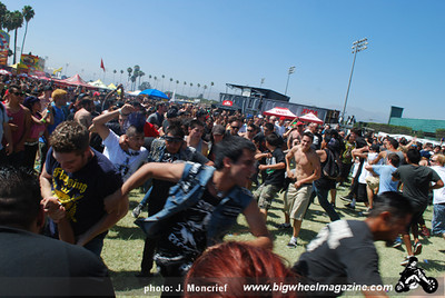 VANS Warped Tour - at The Fairplex - Pomona, CA - August 11, 2010