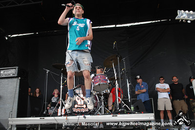 Angry Samoans - VANS Warped Tour - at Ventura Country Fairgrounds - Ventura, CA - June 27, 2010