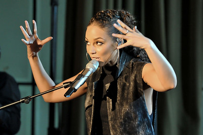 Alicia Keys performs for BBC Radio 1xtra at Maida Vale Studios - 20/01/10
