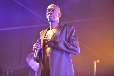 Faithless perform at BBC Big Weekend 2010 - 22/05/10