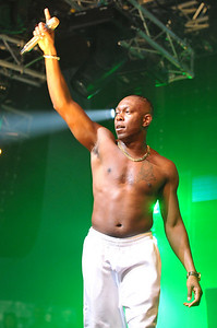 Dizzee Rascal performs at BBC Big Weekend 2010 - 22/05/10