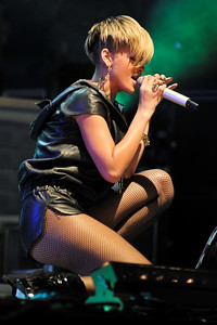 Rihanna performs at BBC Big Weekend 2010 - 23/05/10