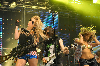 Ke$ha performs at BBC Big Weekend 2010 - 23/05/10