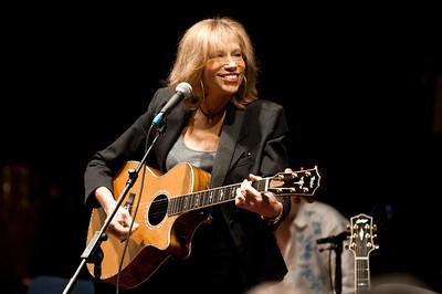 Carly Simon performs at BBC Maida Vale Studios - 02/03/10