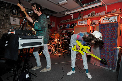 Darwin Deez performs at Pure Groove Records, London - 12/04/10