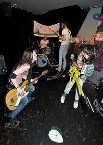 Darwin Deez performs at The Black Heart, Camden - 13/04/10