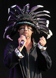 Jamiroquai perform at Hard Rock Calling 2010 - 26/06/10