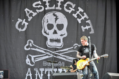The Gaslight Anthem perform at Hard Rock Calling 2010 - 25/06/10