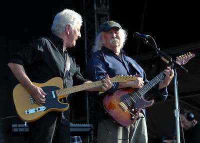 Crosby, Stills & Nash perform at Hard Rock Calling 2010 - 27/06/10